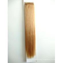 20inch 18inch 100% Human Hair Virgin Hair Product Top Quality Easy Pull Knot Thread Hair Extensions Easy Pull Thread Knotted Hair