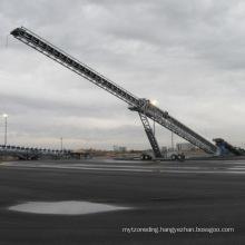 Large Capacity Sand Gravel Mobile Conveyor Machine Price for Sale