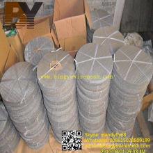 Disco de filtro de tela de alambre de acero inoxidable