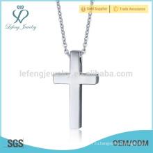 Оптовые серебряные серьги из нержавеющей стали Allah Cross Pendants Jewelry