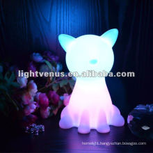BSCI certified manufactuer RGB Color Changing animal led night light for kids