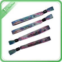 Polyester Material Fancy Wristband with RFID Cards