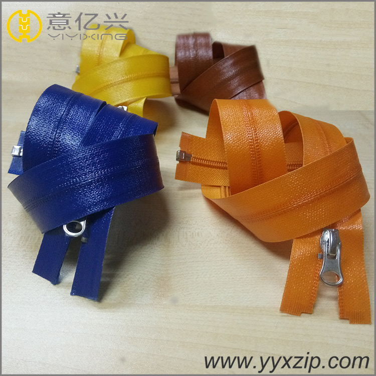 auto lock waterproof zipper