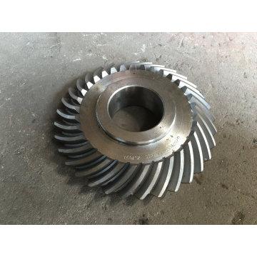 Getriebe Straight Teethed Kegelstirnradgetriebe mit Keilnut