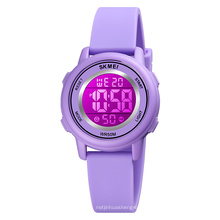 SKMEI 1721 Cheap Children Watches Colorful Silicone Digital Watch Christmas Gifts for Kids