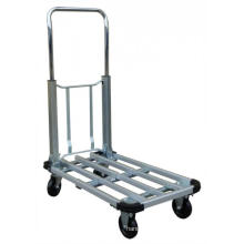 Chariot pliant de plate-forme en aluminium