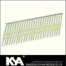 Zinc Galvanized Plastic Strip Nails