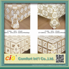 Tissu en dentelle à table en PVC 574 '' en rouleau