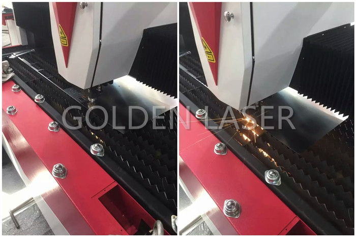 Metal Laser Cutting Machine Golden Laser