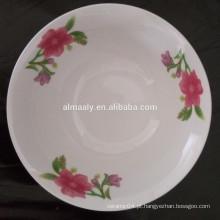 Tigela de sopa de porcelana de venda quente