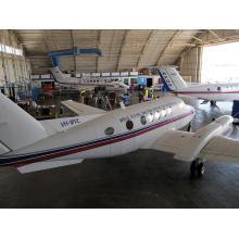 Estructura de acero prefabricada Hangar de coches y estructura de acero Hangar de avión