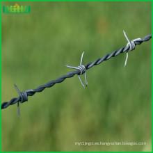 El alambre de púas del acero inoxidable usado para la venta