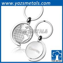 Promotional rotating globe keychains