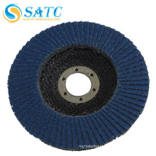 Round aluminum oxide polisher flap glass sanding disc