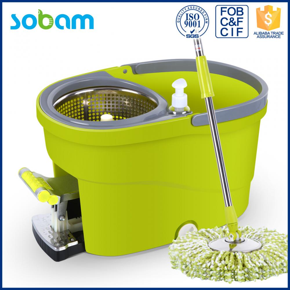 New Magic Spin Mop Bucket With Foot Pedal