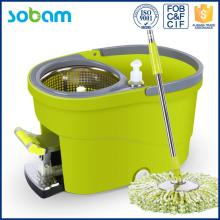 2017 cleaning bucket spin mop , plastic mop bucket