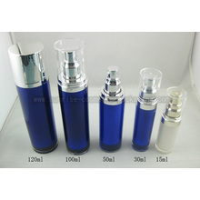 15ml30ml50ml100ml120ml Round Acrylic Lotion Bottle