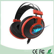 Promocional 50mm Noice Cancelar Stereo Wired LED Gaming Headset (K-919)