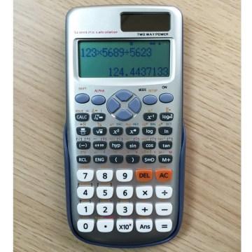 Calculadora Secientifc com 10 + 2 dígitos com 417 funções (759C)