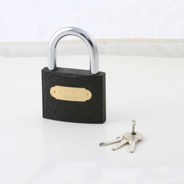 Cheap Price MID Heavy Duty Customized Logo Grey Iron Padlock