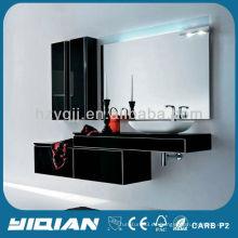 Caliente venta alto brillo moda diseño moderno pared vanidad unidad