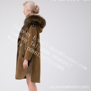 Lady Spain Merino Shearling Coat