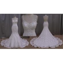 Robe de mariée occasionnels d'Ivoire dentelle Beach
