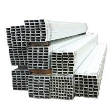 structural galvanized ms rhs steel pipe !  astm a500b hot dip galvanized square steel tube 100x100