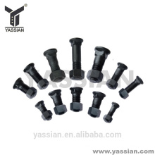 YASSIAN hot sale wearab alloy steel black bolts and nuts