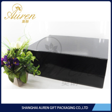 apparel packaging folding paper black box