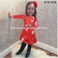 As meninas coloridas das crianças do Natal da impressão vestem crianças bonitas vestem-se