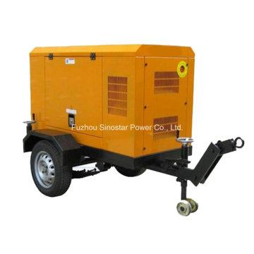 20 кВт / 25 кВА Дизель-генератор Cummins 4b3.9-G1 с прицепом