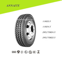 TBR Radial Truck Tire with DOT ECE (11R22.5, 11R24.5, 295/75R22.5)