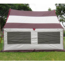 Camping en plein air Perméabilité à l'air Spacieuse Étanche 5-6 personnes Tente de camping