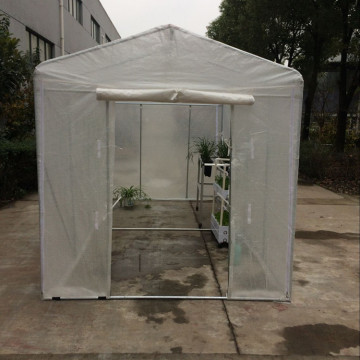 Skyplant Cheap Agricultural Plastic Garden Walk-in Greenhouse