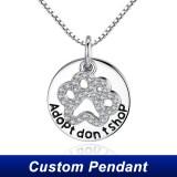 china custom logo pendant custom pendant