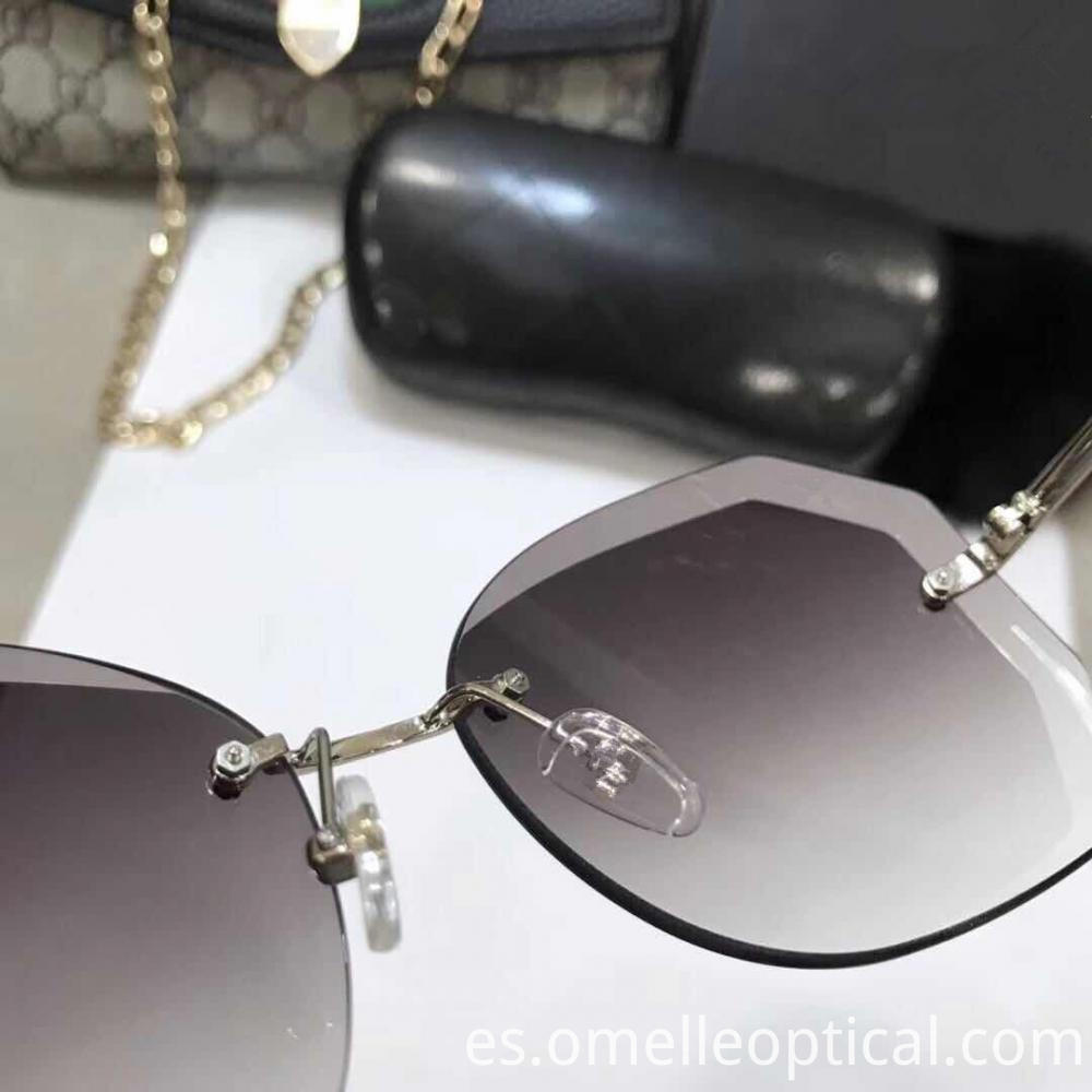 New Rimless Sunglasses Trend