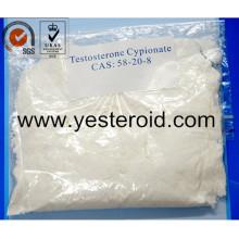 Testostérone crue Cypionate 58-20-8 de poudre de stéroïde anabolisant de bâtiment de muscle