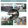 5pcs hot sale metal enamel high storage bowl sets with plastic lid