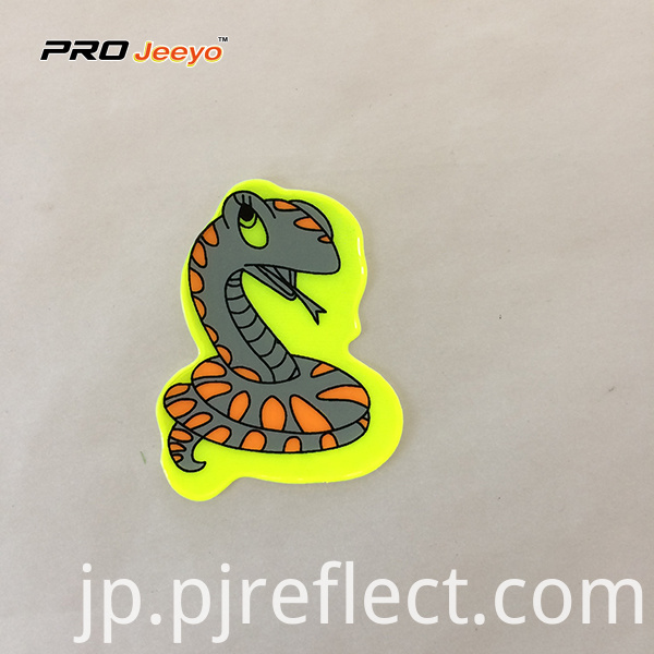 Reflective Adhesive Pvc Snake Shape Stickers For Children Rs Dw001