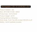 Pour le camping, le ménage, l'atelier, l'automobile Bright 180 Lumen LED Pocket Pen Work Light