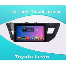 Système Android Car DVD Navigation GPS pour Toyota Levin Écran tactile de 10,1 pouces avec Bluetooth / MP3 / WiFi