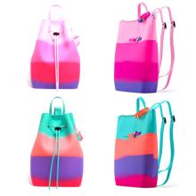 Yummy Gummy Силиконовый красочный школьный детский рюкзак