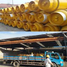 NH3 अमोनिया फिलीपींस फल प्रशीतन के लिए 100 एल के लिए औद्योगिक गैस