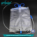Urine collection bag hanger