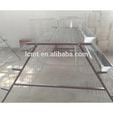 H type hot galvanized wire bird cage for chicken farm