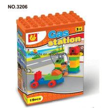 Bloques de construcción educativa de juguetes para niños y niñas