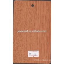 Color rico, laminado de alta presión de grano de madera / HPL