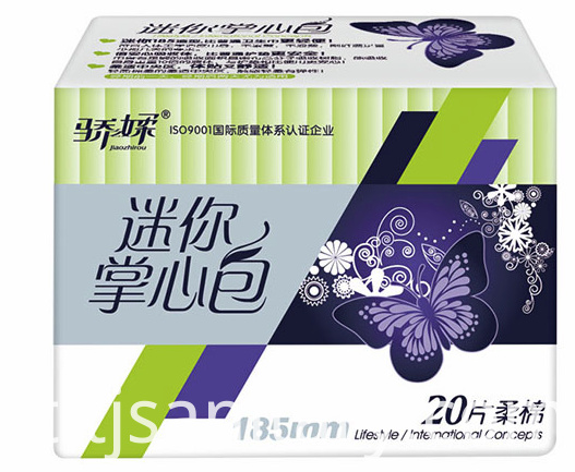 lady sanitary towel