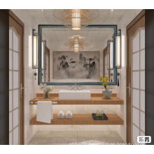 Advertising mirror with frame wholesale makeup mirror